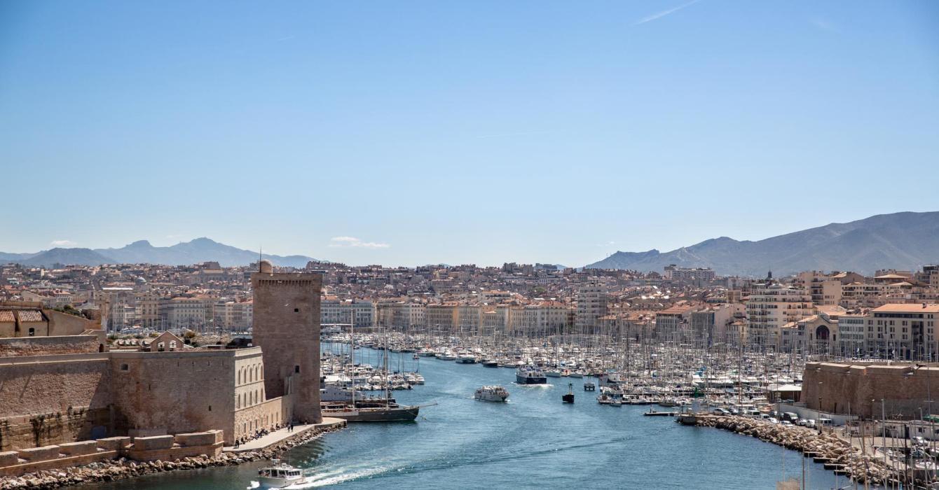 Vue panoramique de Marseille.