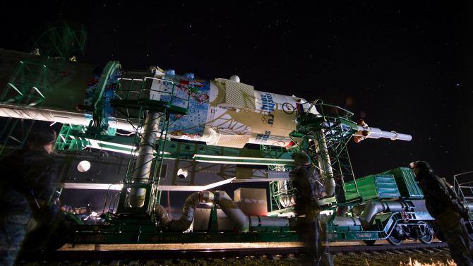 La navette qui a envoyé la flamme olympique dans l'espace