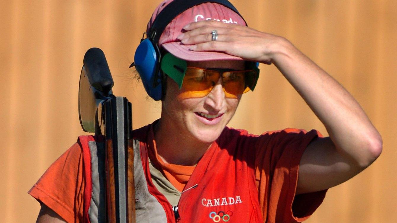 Cynthia Meyer aux Jeux olympiques de 2004 à Athènes.