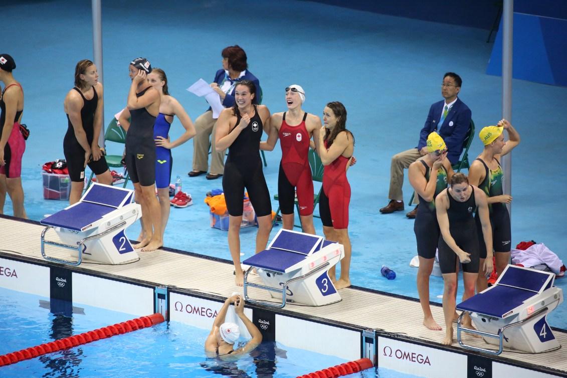 relais 4x100 m