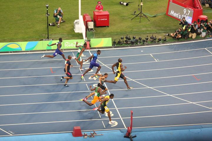 Andre de Grasse 100m finale - Rio 2016 (3)