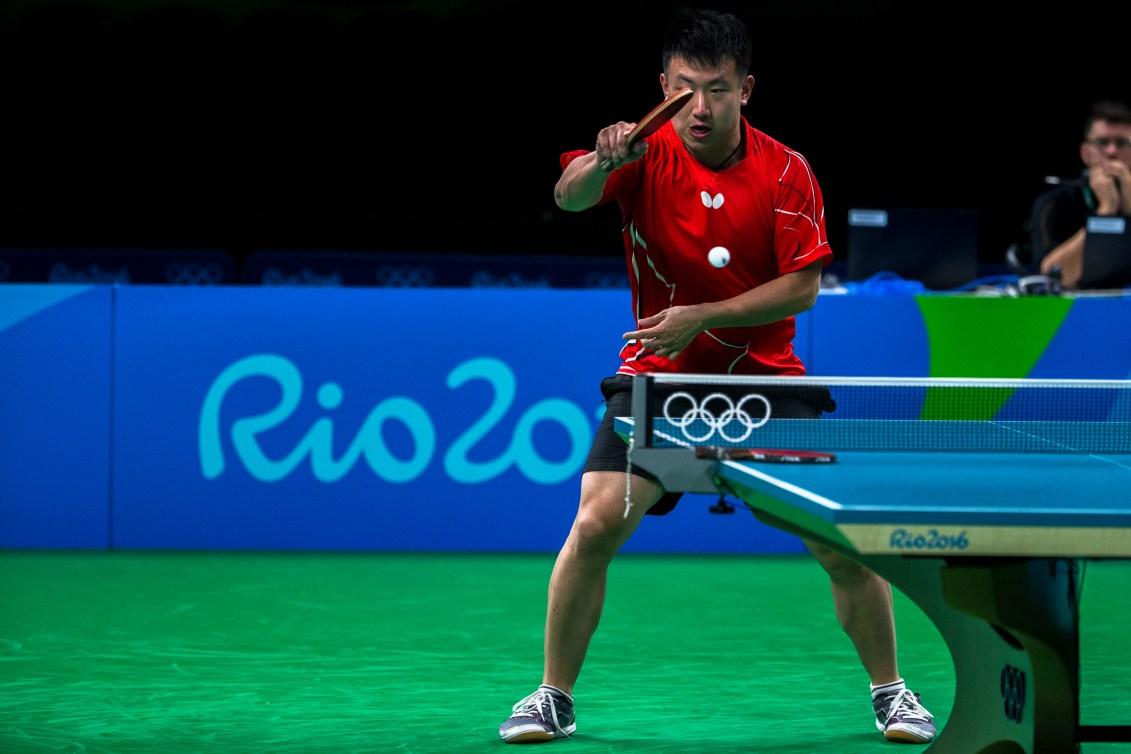 Eugene Wang a eu la vie dure face au sixième favori, Chun Ting Wong (COC Photo/David Jackson).