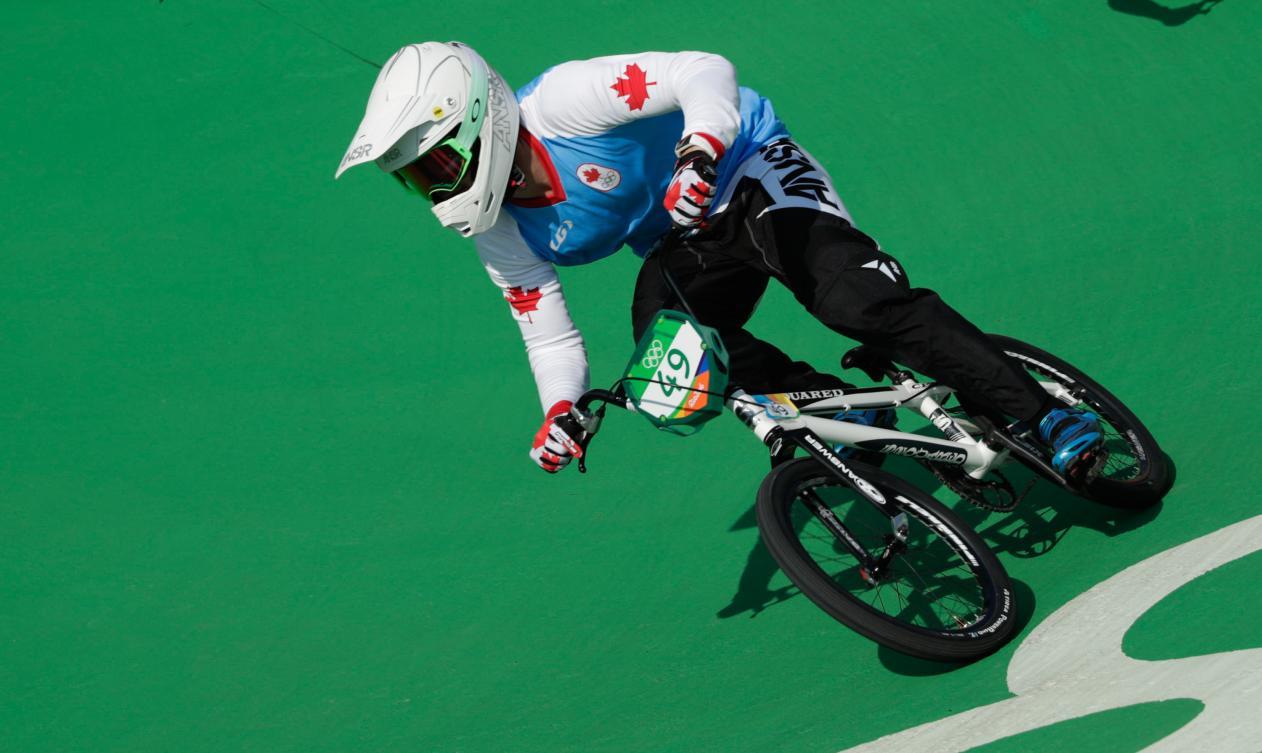 Tory Nyhaug est passé bien près du podium olympique, vendredi, à Rio (COC Jason Ransom).