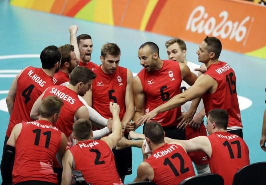 Crie de ralliement d'Équipe Canada en volleyball