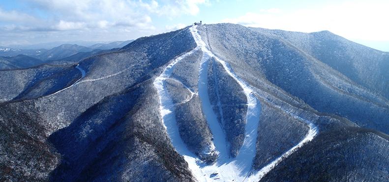 Le Centre alpin de Jeongseon accueillera les épreuves de vitesse de ski alpin, soit la descente, le combiné alpin et le Super-G, à PyeongChang 2018.