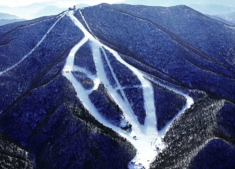 Le Centre alpin de Yongpyong accueillera les épreuves de technique en ski alpin à PyeongChang 2018.