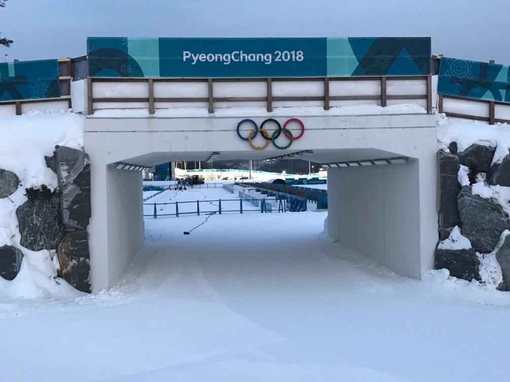 Le Centre de biathlon d'Alpensia accueillera les épreuves de biathlon.