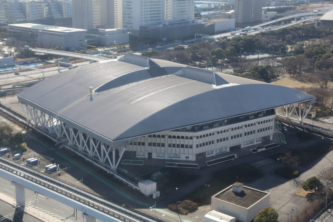 Parc de tennis d'Ariake (Photo courtoisie de Tokyo 2020)