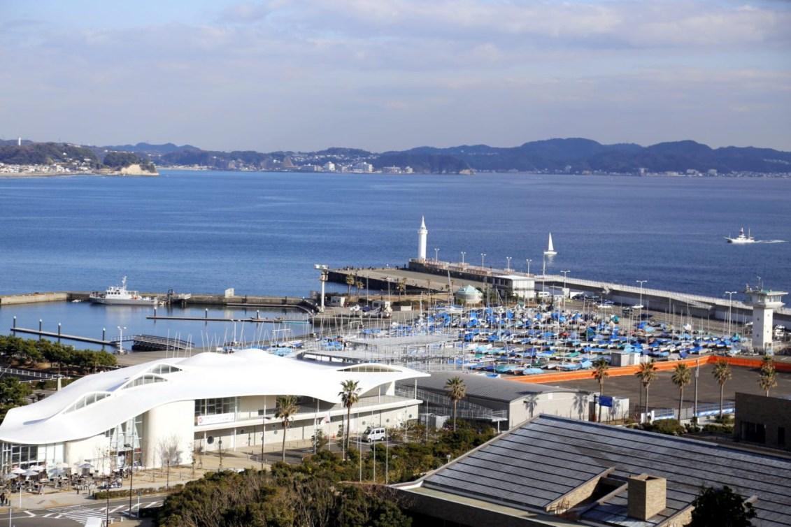 Port de plaisance d'Enoshima (Photo courtoisie de Tokyo 2020)