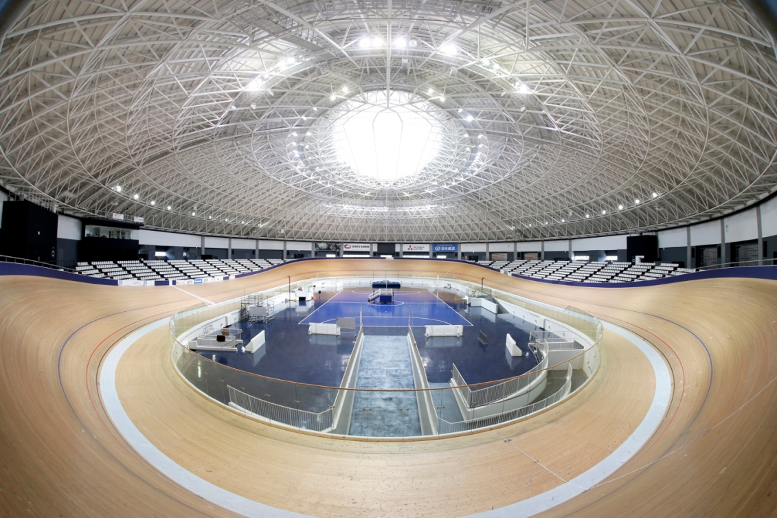 Vélodrome d'Izu (Photo courtoisie de Tokyo 2020)