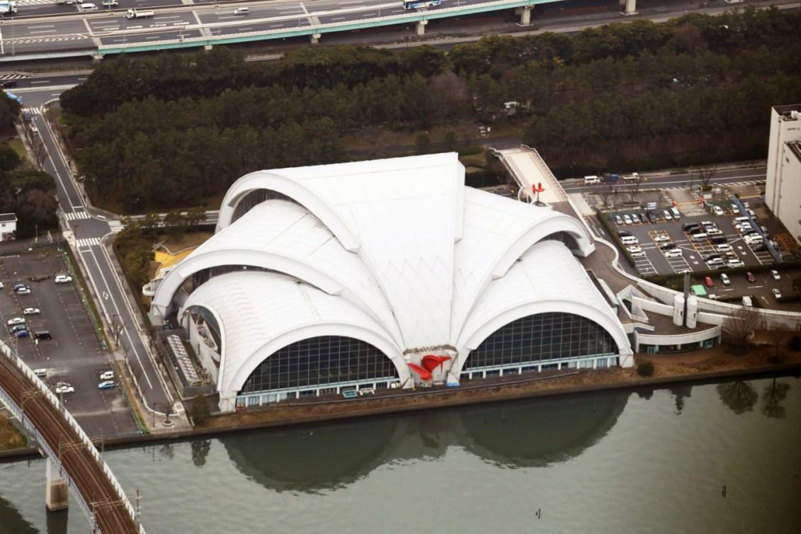 Centre aquatique international de Tatsumi (Photo courtoisie de Tokyo 2020)