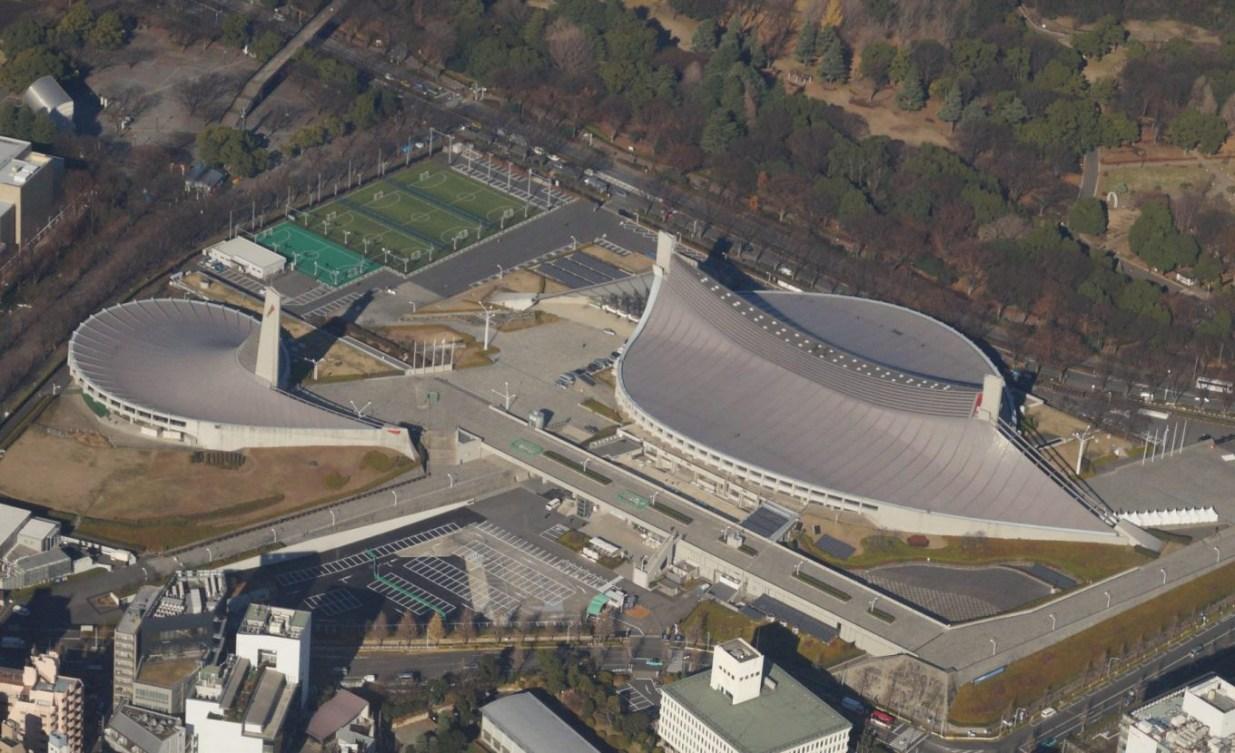 Stade national Yoyogi (Photo courtoisie de Tokyo 2020)