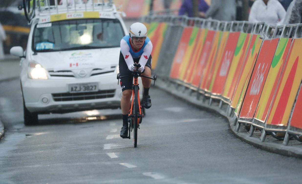 Carol-Ann Canuel en action lors des Jeux olympiques de Rio en 2016. 10 août 2016. COC/Jason Ransom