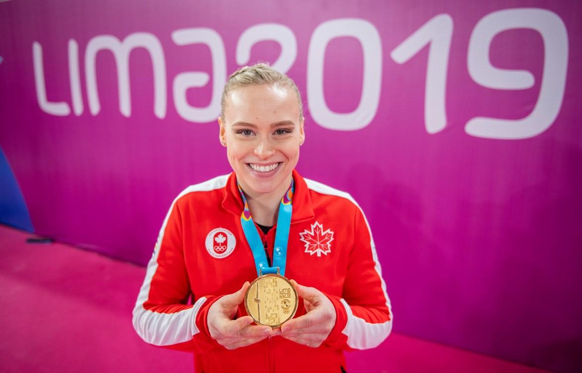 Ellie Blakc au Jeux panaméricains de Lima 2019