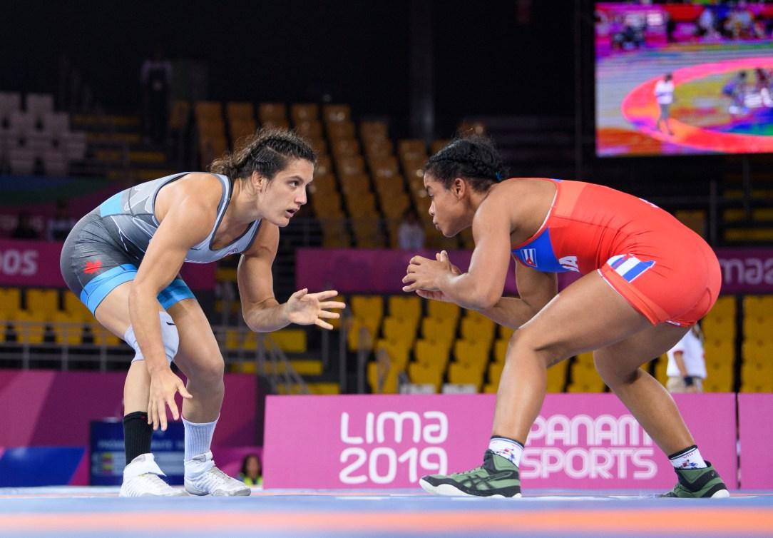 Olivia Di Bacco à Lima 2019