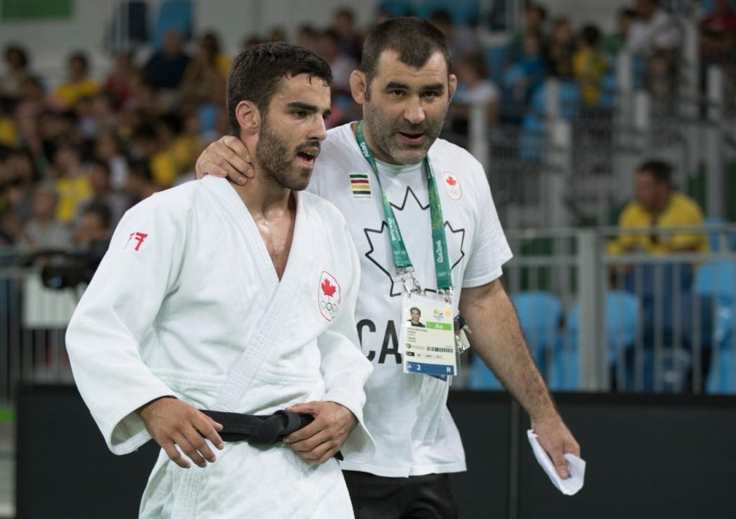 Antoine Bouchard est conseillé par son entraîneur