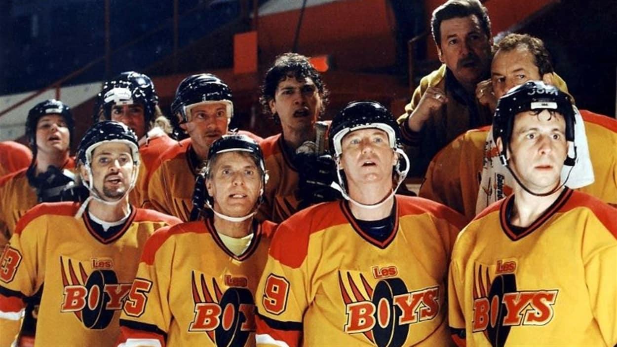 Image du film québécois Les Boys