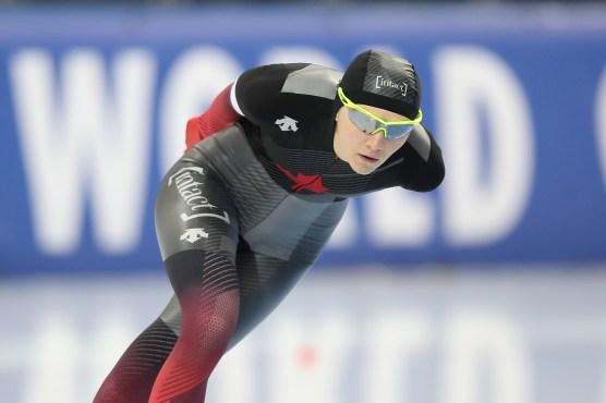 Isabelle Weidemann en pleine course