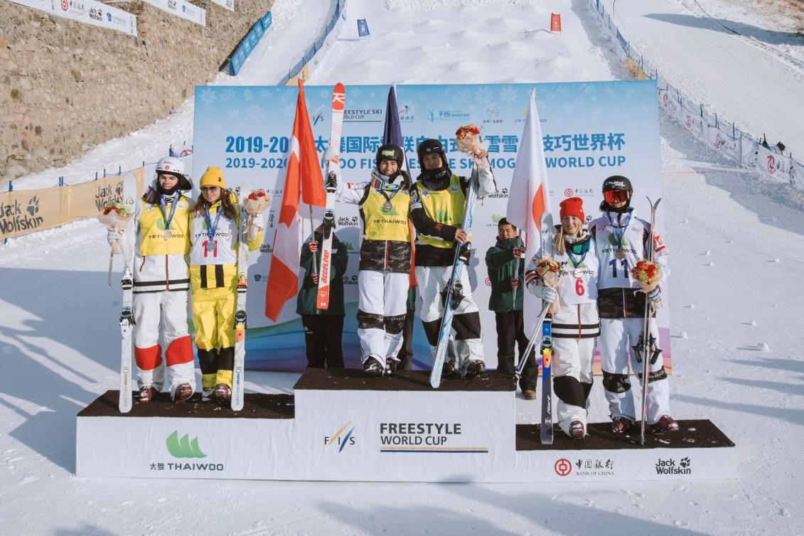 Les 6 médaillés de l'épreuve en simple à la Coupe du monde de Taiwoo