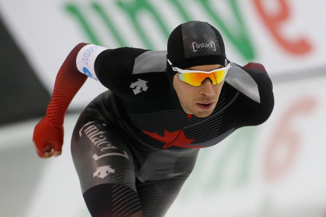 Jordan Belchos en action