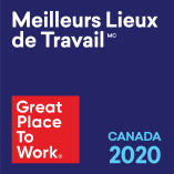Meilleurs lieux de travail au Canada 2020